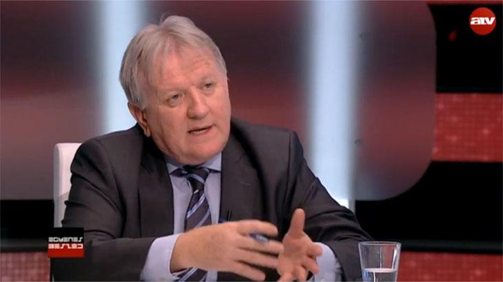 ZRI - Závecz Tibor, az ATV Egyenes Beszéd című műsorában