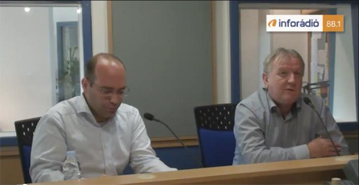 népszavazás - inforadió - aréna - Závecz Tibor