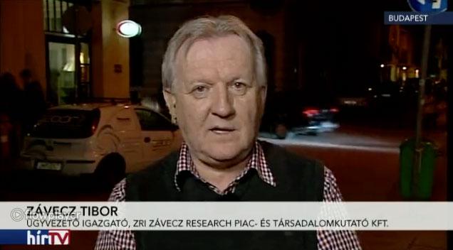Botka vs. Gyurcsány - ZRI - Závecz Tibor - NEWSROOM